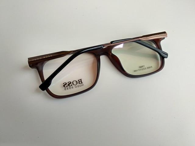 4ca8c662458b8 Hugo boss armação importado armação óculos grau masculino ...