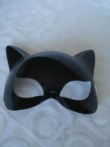 Mascara Mulher Gato Sensual Festa Fantasia Haloween - Foto 4