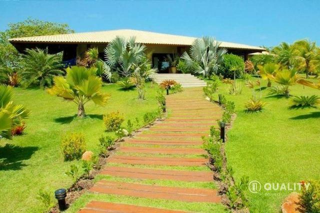 Casa na Lagoa do Uruaú com 6 suítes à venda, por R$ 5.800.000 Porteira fechada- Beberibe - Foto 3
