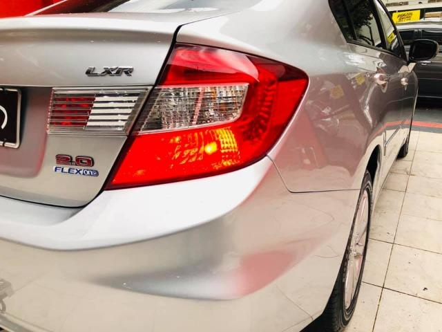 Honda Civic 2014 lxr automático + kit multimídia, carro impecável !!! - Foto 13
