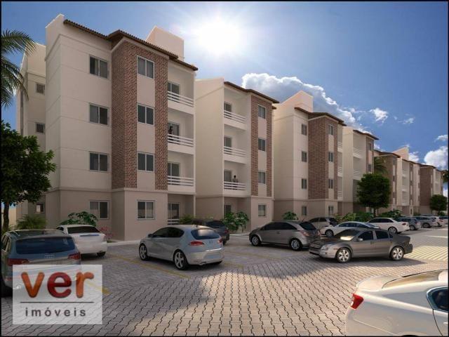 Apartamento com 2 dormitórios à venda, 48 m² por R$ 192.854 - Parangaba - Fortaleza/CE - Foto 5