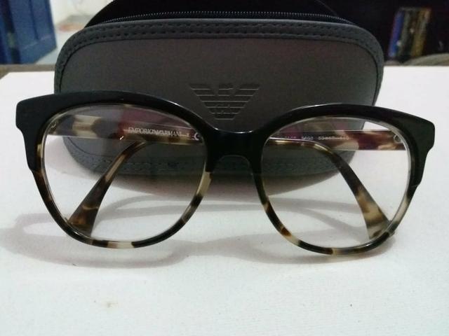 Oculos Armação Armani Original com N. fiscal