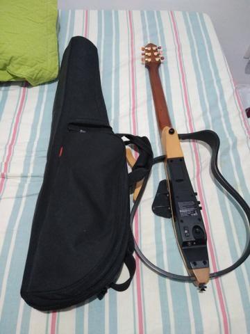 Violão Silent Yamaha aço zerado! SÓ VENDA - Foto 5