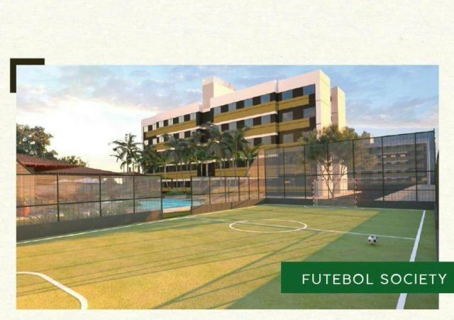 Residencial Vista do Bosque, apartamentos com 2 quartos sendo 1 suíte reversível, - Foto 4