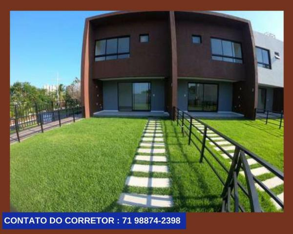 Casa em Patamares Casa com 3 quartos - Dependência - Suíte em 129m² com 2 Vagas,