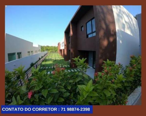 Casa em Patamares Casa com 3 quartos - Dependência - Suíte em 129m² com 2 Vagas, - Foto 5
