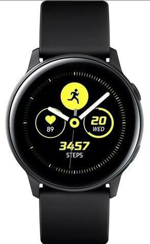 Smartwatch Touchscreen Galaxy Watch Active Bluetooth - Preto
