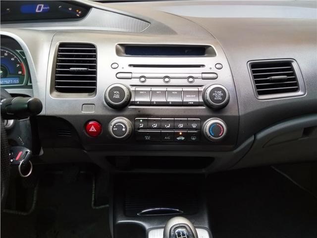 Honda Civic 1.8 lxs 16v flex 4p manual - Foto 10