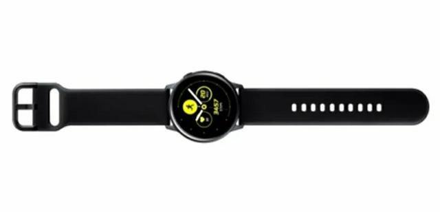 Smartwatch Touchscreen Galaxy Watch Active Bluetooth - Preto - Foto 4