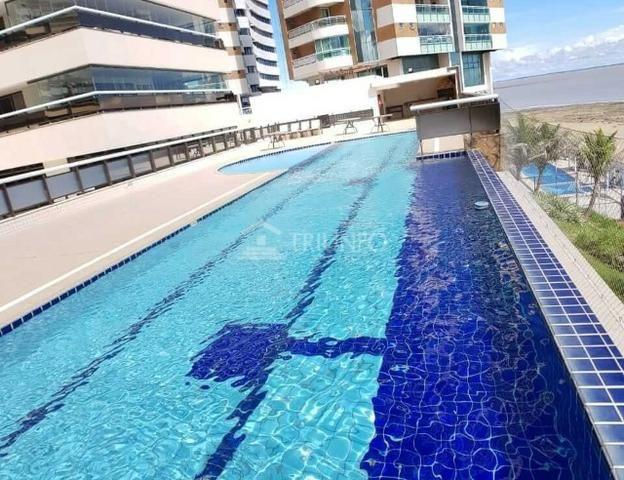 Apartamento na Ponta do Farol ? 360m ? Frente Mar e 4 Suítes