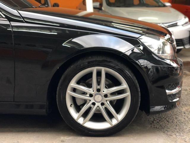 Mercedes Benz C-180 Sport CGi Vision 2014 Preta, impecável, financiamos! - Foto 6