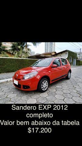 Renault Sandero EXP 1.0 flex 2012 completo