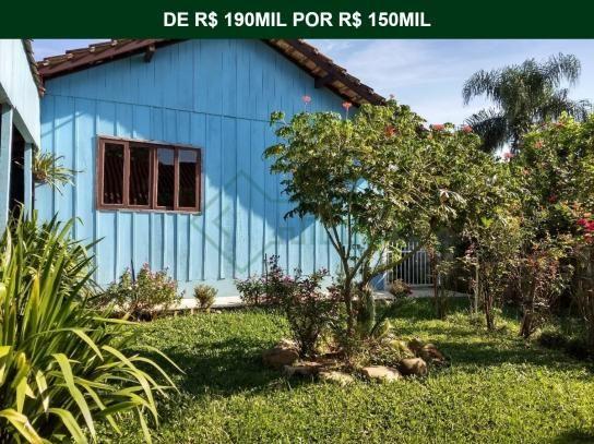 Duas casas no terreno bairro guanabara | terreno de 416 m²