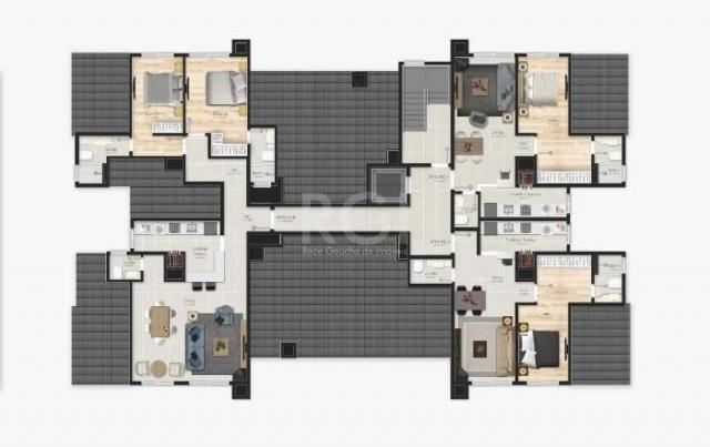 Apartamento à venda com 1 dormitórios em Várzea grande, Gramado cod:EV4091 - Foto 19