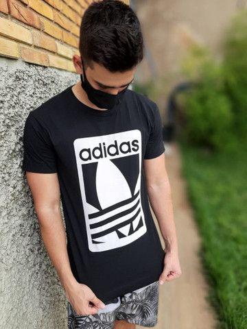 3 camisas de malha linha premium