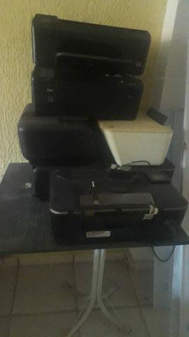 Impressoras 7 unidades para retirada de peças  - Foto 2