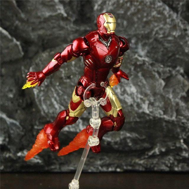Homem De Ferro (iron Man) Mk3 Zd Toys - Foto 3