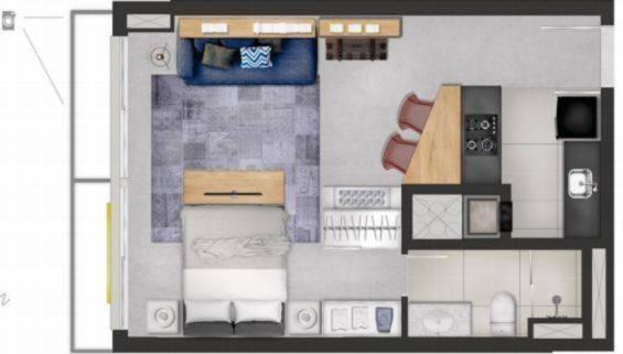 Apartamento à venda com 1 dormitórios em Partenon, Porto alegre cod:AP010336 - Foto 7