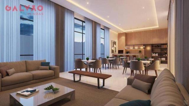 Apartamento com 2 dormitórios à venda, 88 m² por R$ 642.425,79 - Alto da Rua XV - Curitiba - Foto 5