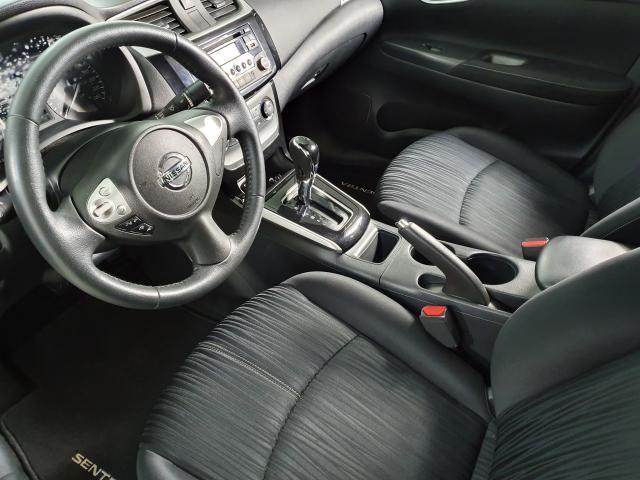 Nissan Sentra S 2.0 FlexStart 16V Aut. - Cinza - 2017 - Foto 12