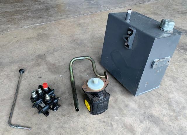 Kit hidráulico trator agricola acionamento de implementos