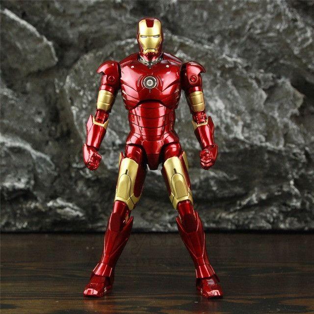 Homem De Ferro (iron Man) Mk3 Zd Toys