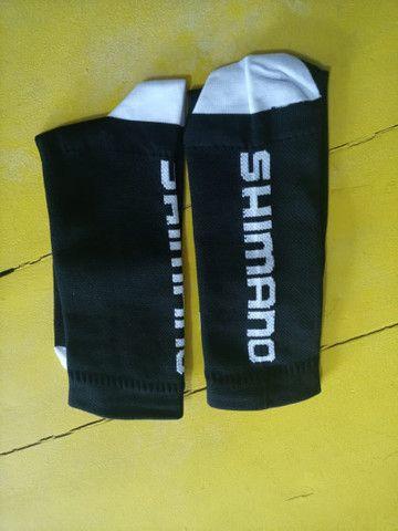 Meias Ciclista Shimano  com absorção de umidade - Foto 6