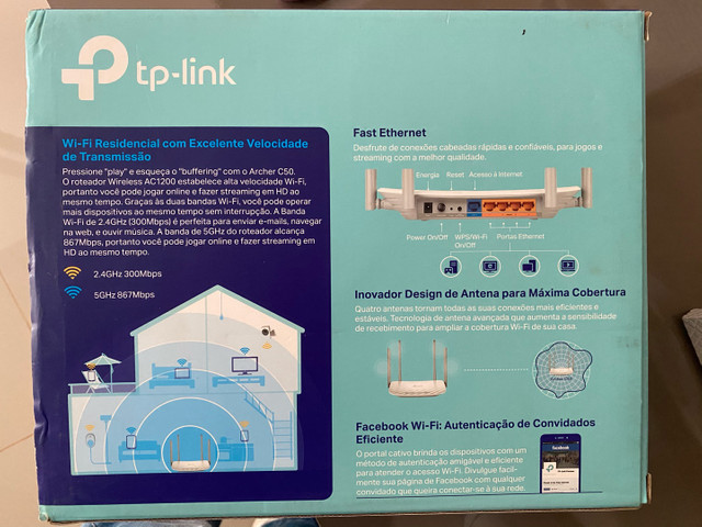 Roteador wireless-TP Link  - Foto 2