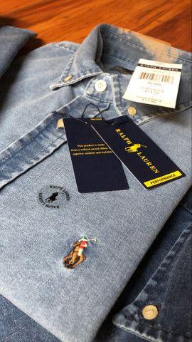 Camisa Jeans RL - Foto 5