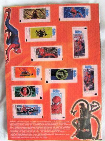 Album Figurinhas Homem Aranha 2 Buzzy 2004 Semi Completo - Foto 3