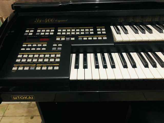Órgão Tokai Organist yx400 Preto - Foto 6