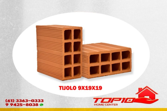 Tijolo 9x19x19