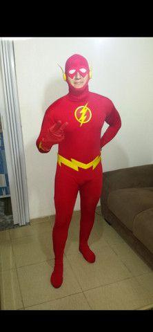 Fantasia the flash adulto super barata