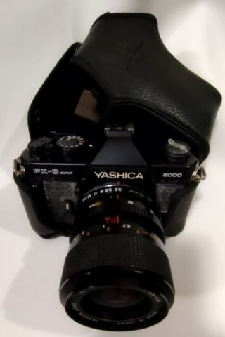Máquina Fotográfica Yashica Fx-3 Super 2000 - Foto 3