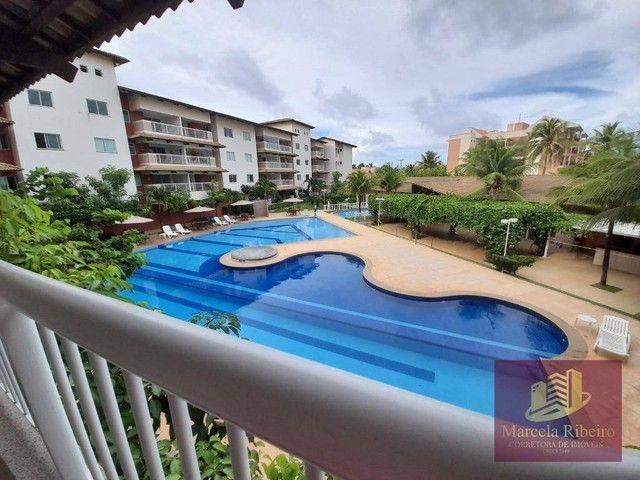 Apartamento à venda, 76 m² por R$ 439.000,00 - Porto das Dunas - Aquiraz/CE