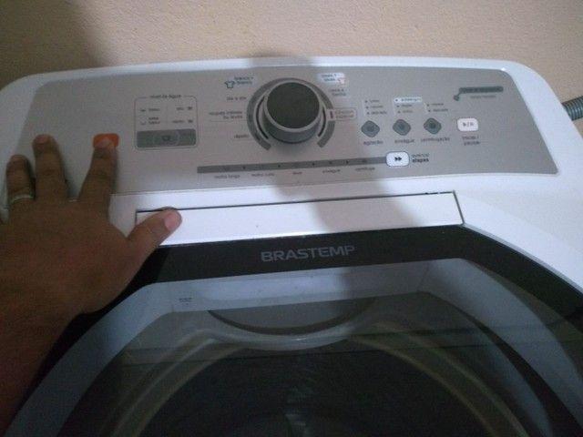 Vendo máquina de lavar roupa 15k impecável tudo ok não e de concerto ! - Foto 2