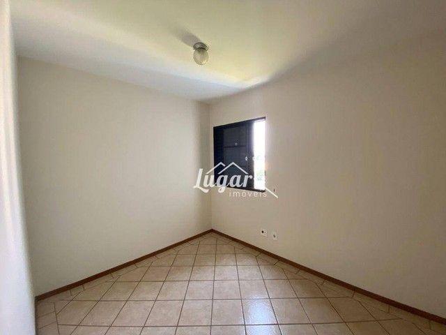 Apartamento com 3 dormitórios para alugar, 100 m² por R$ 1.300,00/mês - Boa Vista - Maríli - Foto 9