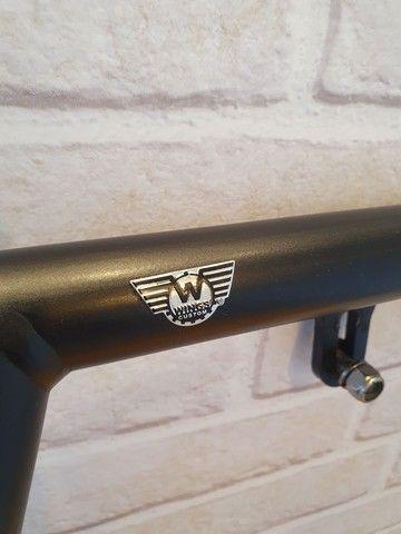 Protetor de motor Wings Custom - King Robust - Harley Davidson Dyna - Preto - Foto 4