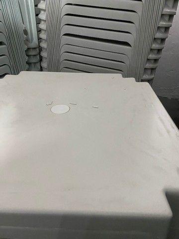 Super oferta de mesa cor branca para lanchonete no atacado
