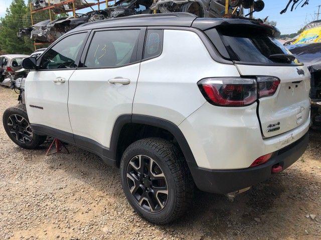 Jeep compass 2020 diesel vendido em peças  - Foto 3