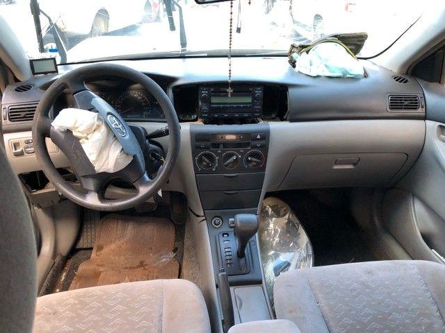 Toyota corolla 2007 1.8 vendido em peças  - Foto 5