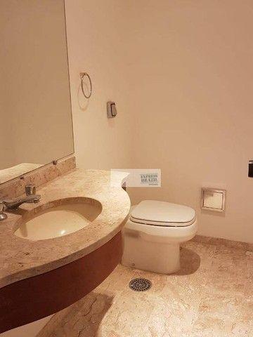 Apartamento com 4 dormitórios para alugar, 335 m² por R$ 14.000,00/mês - Chácara Flora - S - Foto 9