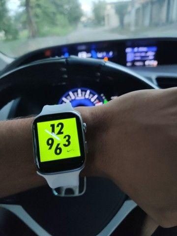 Smartwatch Pulseira inteligente Completa 44mm Bluetooth - Foto 5