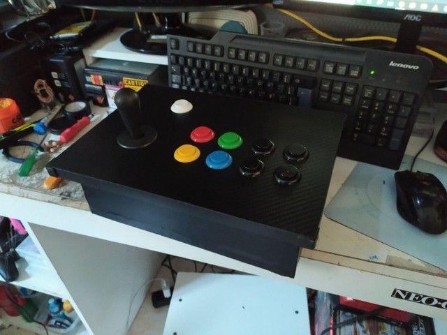 Controle arcade 1player.. ( sem parte elétrica)