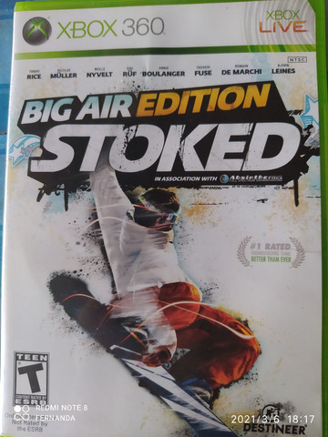 Jogo Xbox 360 Big Air  Stoked edition