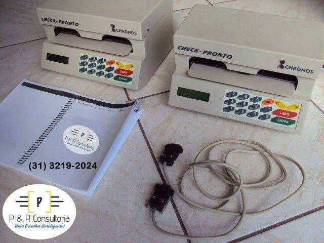 Máquina de Preencher Cheques Multi 31100, SemiNova. Completa. - Foto 4