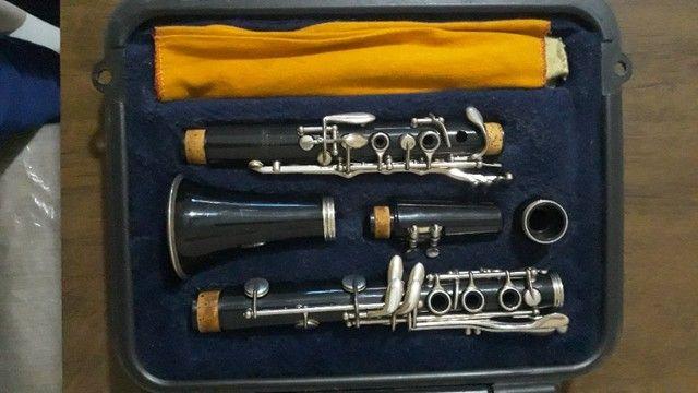 Clarinete Selmer 1400 Sib 17 Chaves