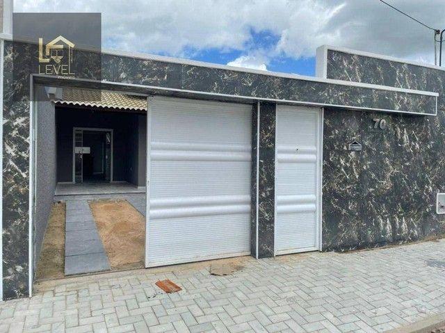 Casa com 2 dormitórios à venda, 80 m² por R$ 175.000,00 - Divineia - Aquiraz/CE