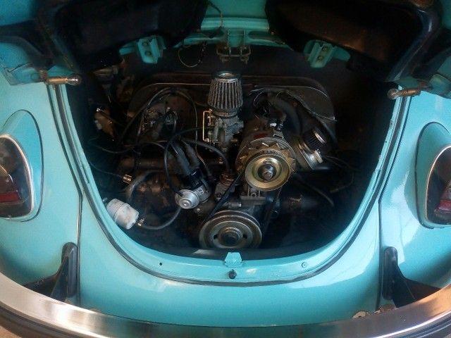 Vende-se Fusca ano 77 motor 1.6 - Foto 4