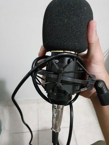 Vendo microfone BM800